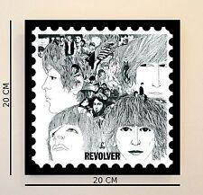 Retro Pop Art Beatles Revolver 8 INCH Picture Tile Gift Idea FREE UK P&P