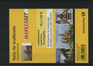 Germany-BRD-Federal-Folienblatt-RC-6-Postmarked-Used-More-See-Shop