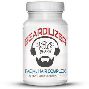 Beardilizer 1 Facial Hair And Beard Growth Complex For Men