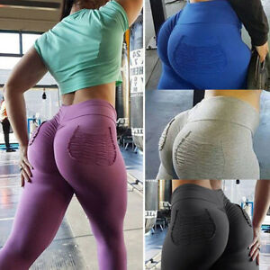 Women-PUSH-UP-Yoga-Leggings-Pants-Fitness-High-Waist-Sport-Jogging-Gym-Trousers