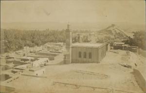 Algerie-Laghouat-Vue-Generale-prise-de-l-039-Hopital-Militaire-Vintage-albu