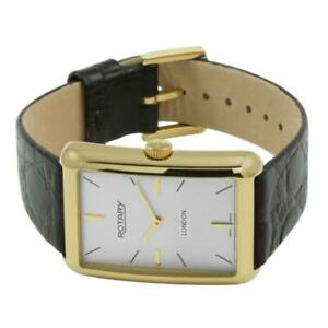 Rotary-GS90991-02-Gents-London-Gold-Plated-Leather-Strap-Watch-RRP-299-00