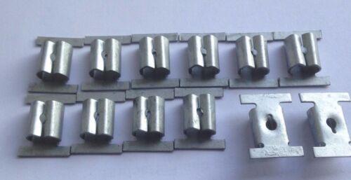 Unterfahrschutz Einbausatz Unterboden Repair Kit CLIPS Opel Signum 201