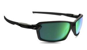 5ebabd2a18 Image is loading NIB-Oakley-CARBON-SHIFT-Sunglasses-Matte-Black-Jade-