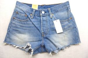 1943f1b4 New Levi's Womens 501 0046 Straight Leg Button Fly Cut Off Jean ...