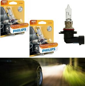 Philips-Standard-9011-HIR1-65W-Two-Bulbs-Head-Light-High-Beam-Replacement-Stock