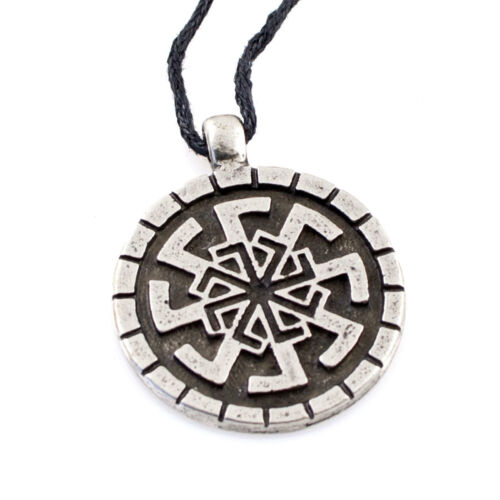 SVETOCH Pendant Pagan Amulet Lucky Charms Silver Plated Slavic Necklace Jewelry