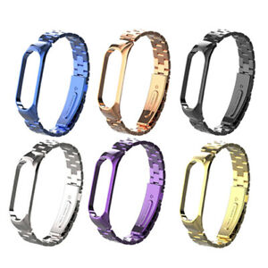 Kettenband-Armband-aus-Edelstahl-Metal-Watch-Band-For-Xiaomi-Mi-Band-4