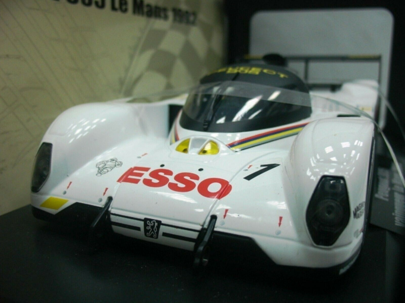 WOW EXTREMELY RARE Peugeot 905 Evo LM Winner Le Mans 1992 1 18 Norev-Spark GT