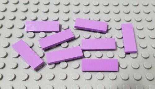 LEGO New Lot of 8 Medium Lavender 1x3 Friends Elves Tile Pieces