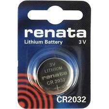 1 piece Original Renata CR2032 3V Lithium Button Coin Cell Battery EXP 06/2023