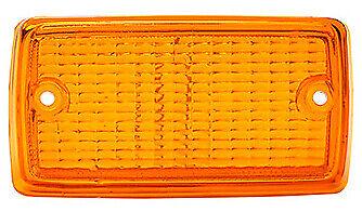 NEW Ford Escort Mk1 Front Indicator Lamp Light Lens Amber Orange
