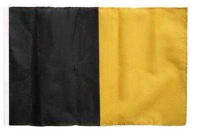 Fahne Flagge Einfarbig Schwarz 30 x45 cm