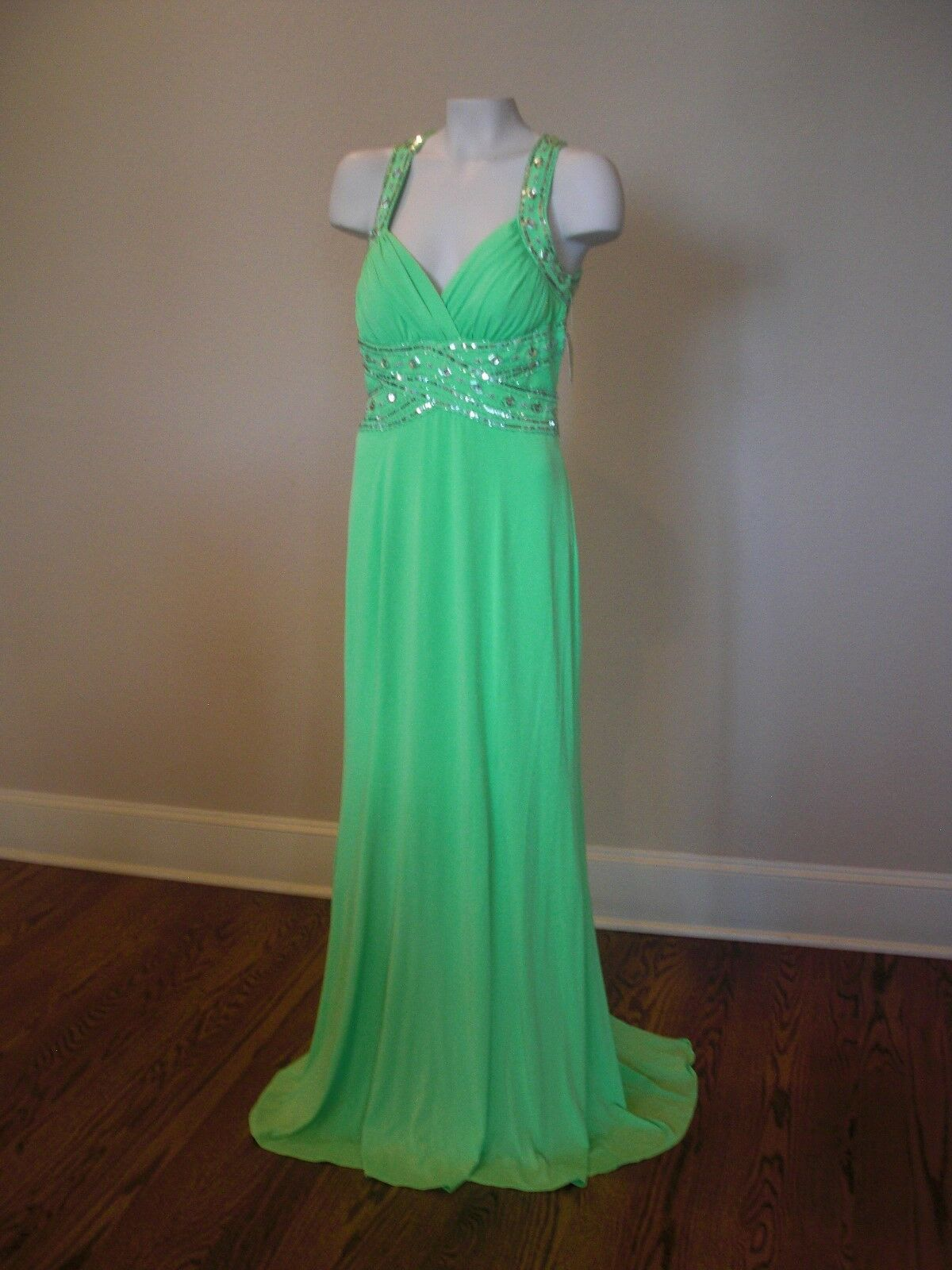 Adrianna Papell Prom Formal Gown Pageant Dress Size 9