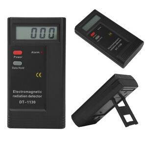 1 PCS LCD Digital Electromagnetic Radiation Detector EMF Meter Dosimeter Tester