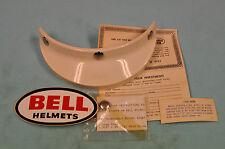 NOS Vintage Motorcycle White Bell Helmet 520 VISOR Toptex TX500 R/T Magnum