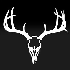 Deer Antlers Hunter Buck Outdoors Bow Hunting Season Vinyl