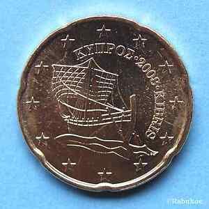 20 Euro Cent Zypern 2008 Ebay