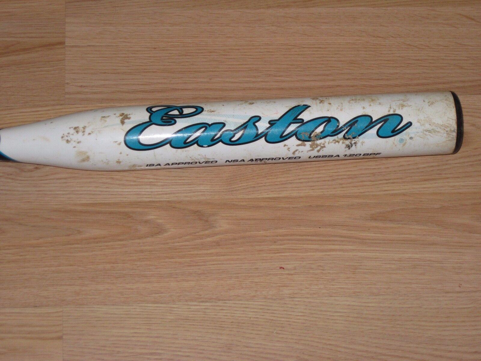 Easton Mystique Isa NSA usssa 1.20 SX66B 30  18.5 OZ Softbol bate -11.5 blancoo