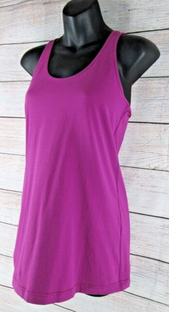 ebf572643 Lululemon Racerback Tank Top Shirt Fuchsia Athletic Yoga Run Women s Size 6