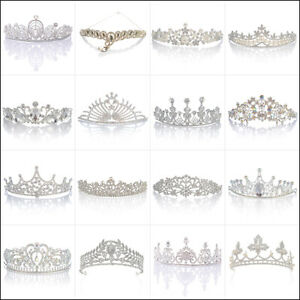 Wedding-Bridal-Tiaras-Pearl-Rhinestone-Crystal-Headbands-Wedding-Veil-Hair-Crown