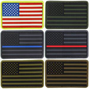 Condor-181004-Tactique-Crochet-Boucle-PVC-Rwb-Bleu-Ligne-Rouge-Drapeau-Americain