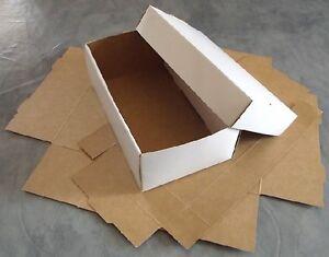 """Boîtes en carton 33 cm 13 /"""" 13/"""" rectangulaire boîte d/'emballage 1,5,10,50-33x25x18cm"""