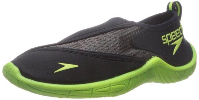 Cerdo Rosa Campo de minas  Speedo Kids Surfwalker Pro 2.0 Water Shoes Kid Size 6 US / Black/Yellow for  sale online