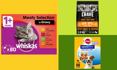 Save up to 10% off Pet Essentials!