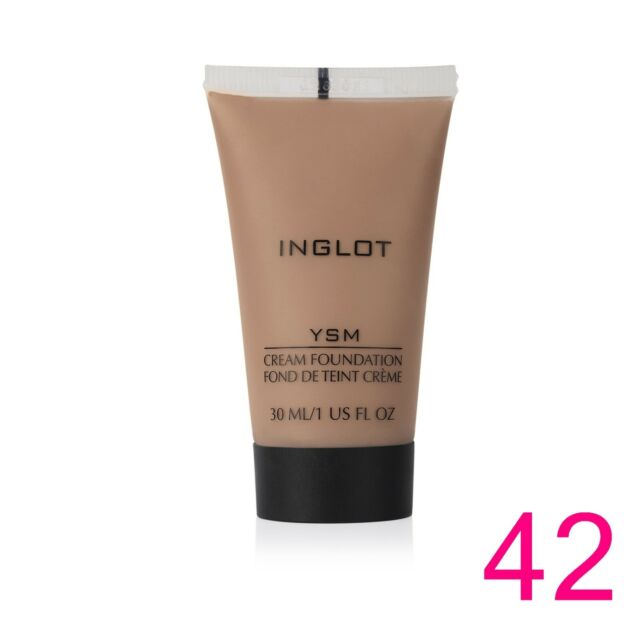 INGLOT - YSM CREAM FOUNDATION Sheer, long lasting, lightweight, mattifying