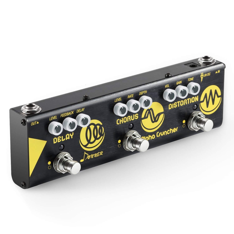 Donner Multi Effector Alpha Cruncher Guitar Delay Chorus Distortion EC 962 F S