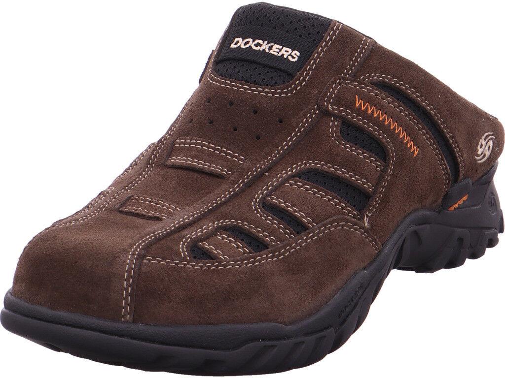 Dockers señores sandalia es sandalias zapatillas de casa marrón