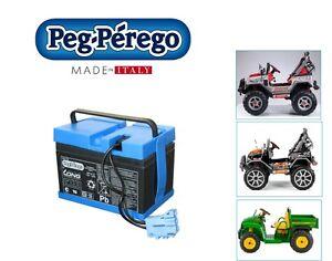 PEG-PEREGO-Batteria-12V-12AH-Polaris-Ranger-Gaucho-IAKB0036-nuovo-Italia