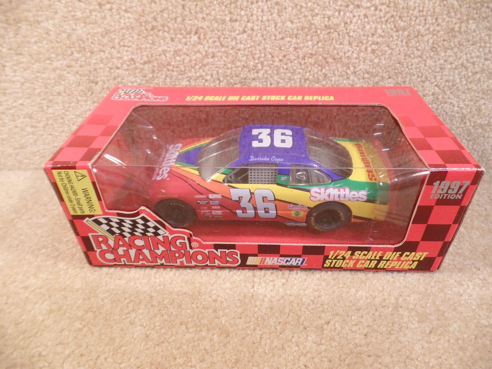 New 1997 Racing Champions 1 24 NASCAR Derrike Cope Skittles Pontiac Grand Prix