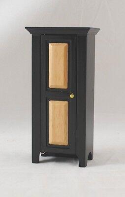 Jelly Pie Cupboard Black Cabinet dollhouse furniture miniature T5974 1/12 scale