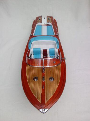 "Riva Aquarama 34/"" High Quality Italian Model Boat L80 Beautiful Home Decor"