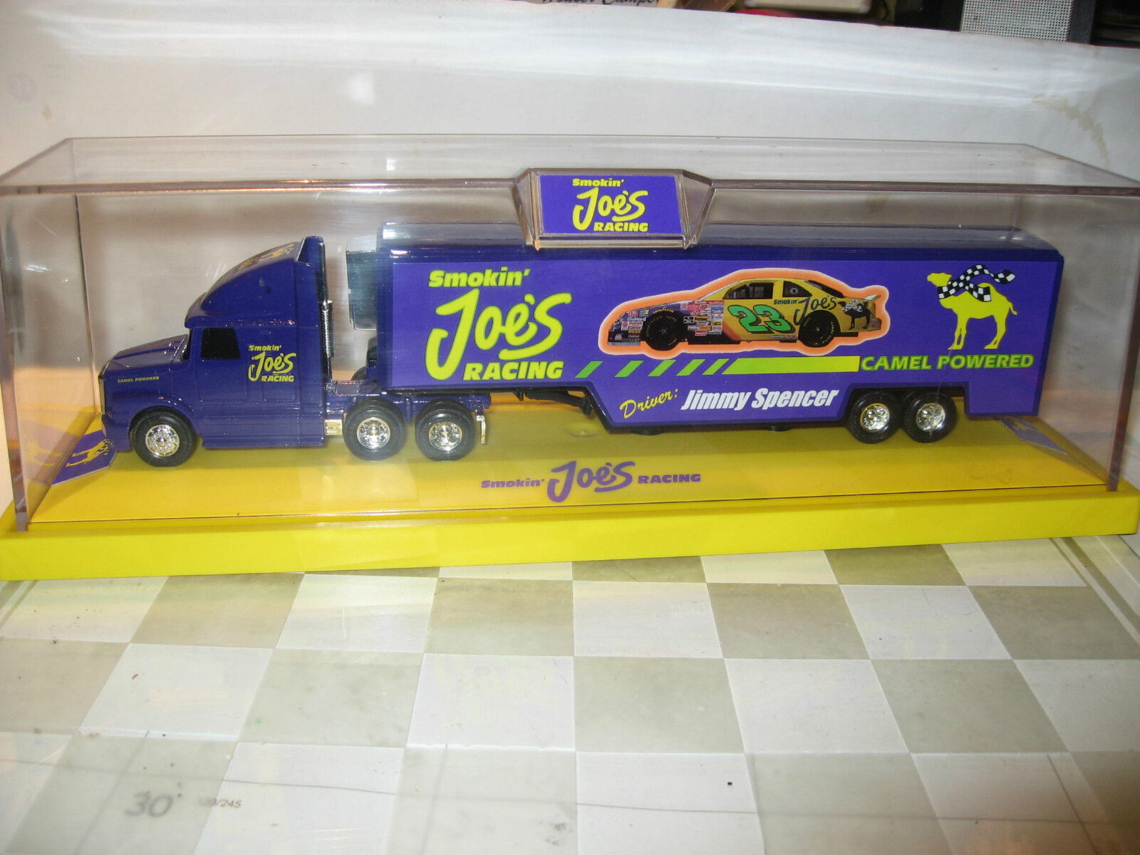 MIB ERTL SMOKEN SMOKEN SMOKEN JOE TRANSPORTER  .of 4000 1992 MADE IN USA.free w-w ship ed529f
