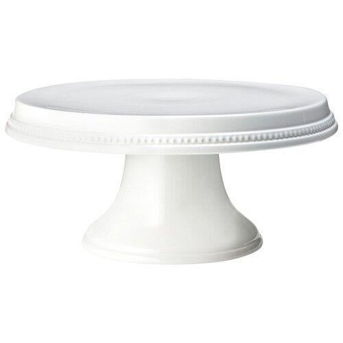Threshold Beaded Cake Stand - White