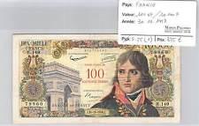 BILLET 100 NF/10000 F  10000 F surchargé 100 Nouveaux Francs BONAPARTE  30/10/58