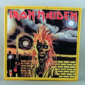 IRON-MAIDEN-s-t-Printed-Small-Patch-NEW