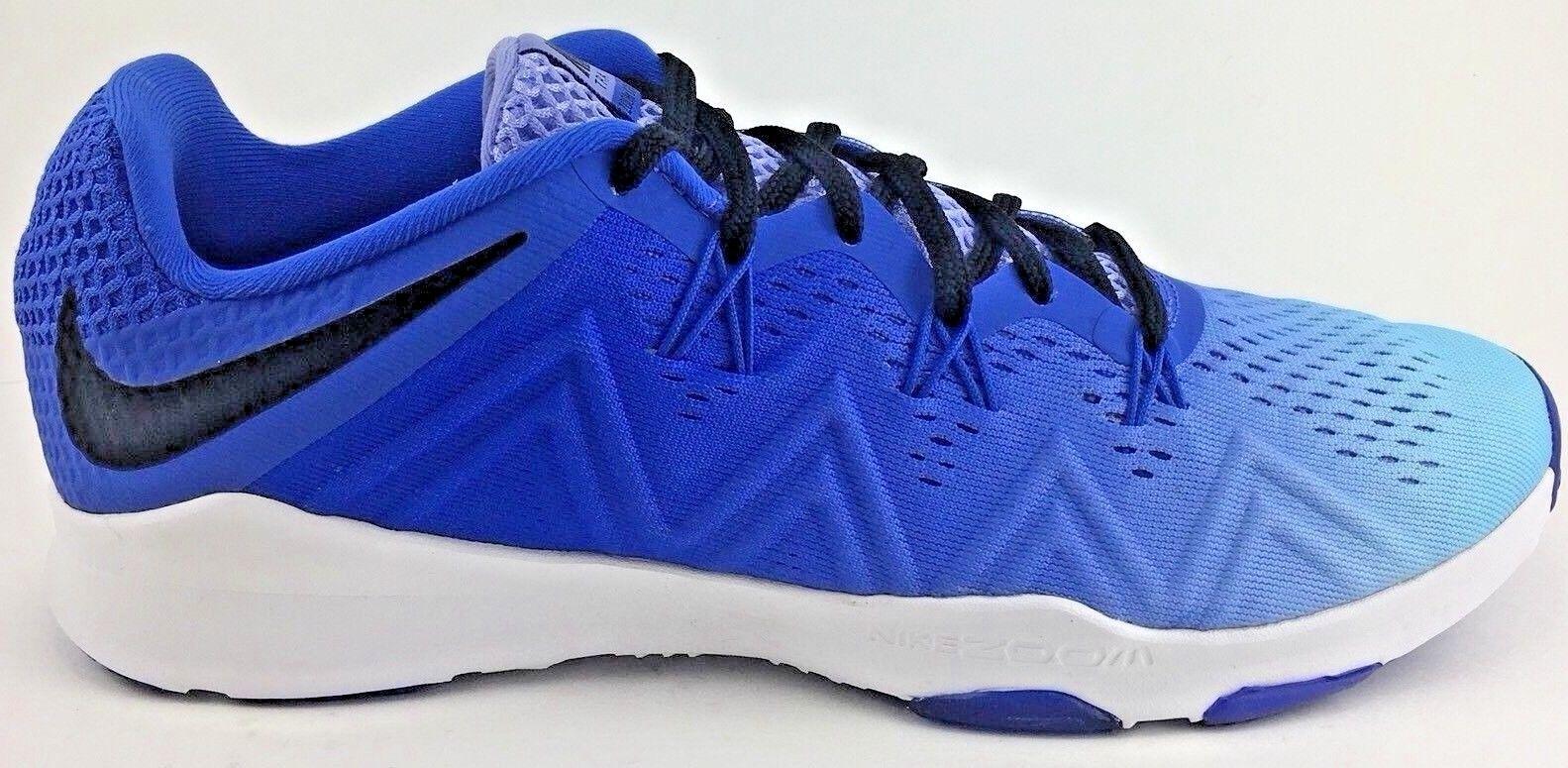 Nike Zoom Women's Size 8.5 Condition TR Cross Training Running Blue Shoe Sneaker