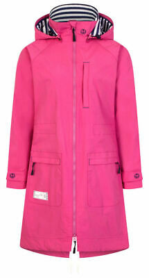 Lazy Jacks Womens Waterproof Raincoat Raspberry Pink