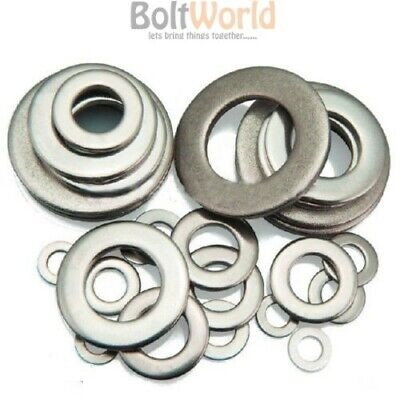 M20 1,000+ STAINLESS STEEL FLAT WASHERS FORM A. METRIC WASHER ASSORTMENT M3