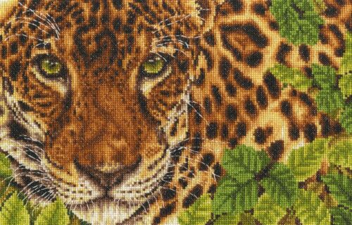 Out of Sight Safari Animals DMC Cross Stitch Kit