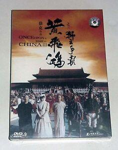"""Jet Li """"Érase una vez en China 3 III"""" Tsui Hark versión HK región todos los DVD"""