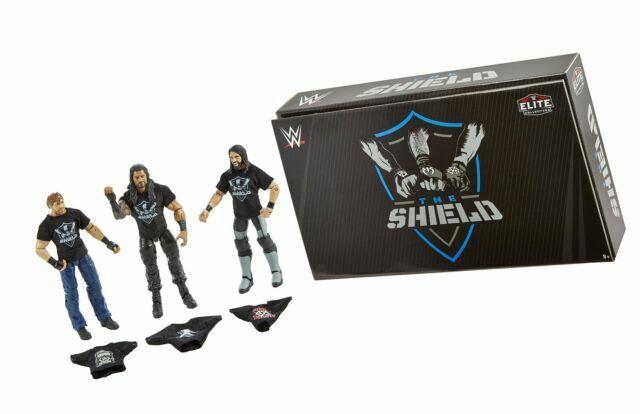 Seth Rollins /& Dean Ambrose Action Figure 3-Pack Epic moments Roman Reigns