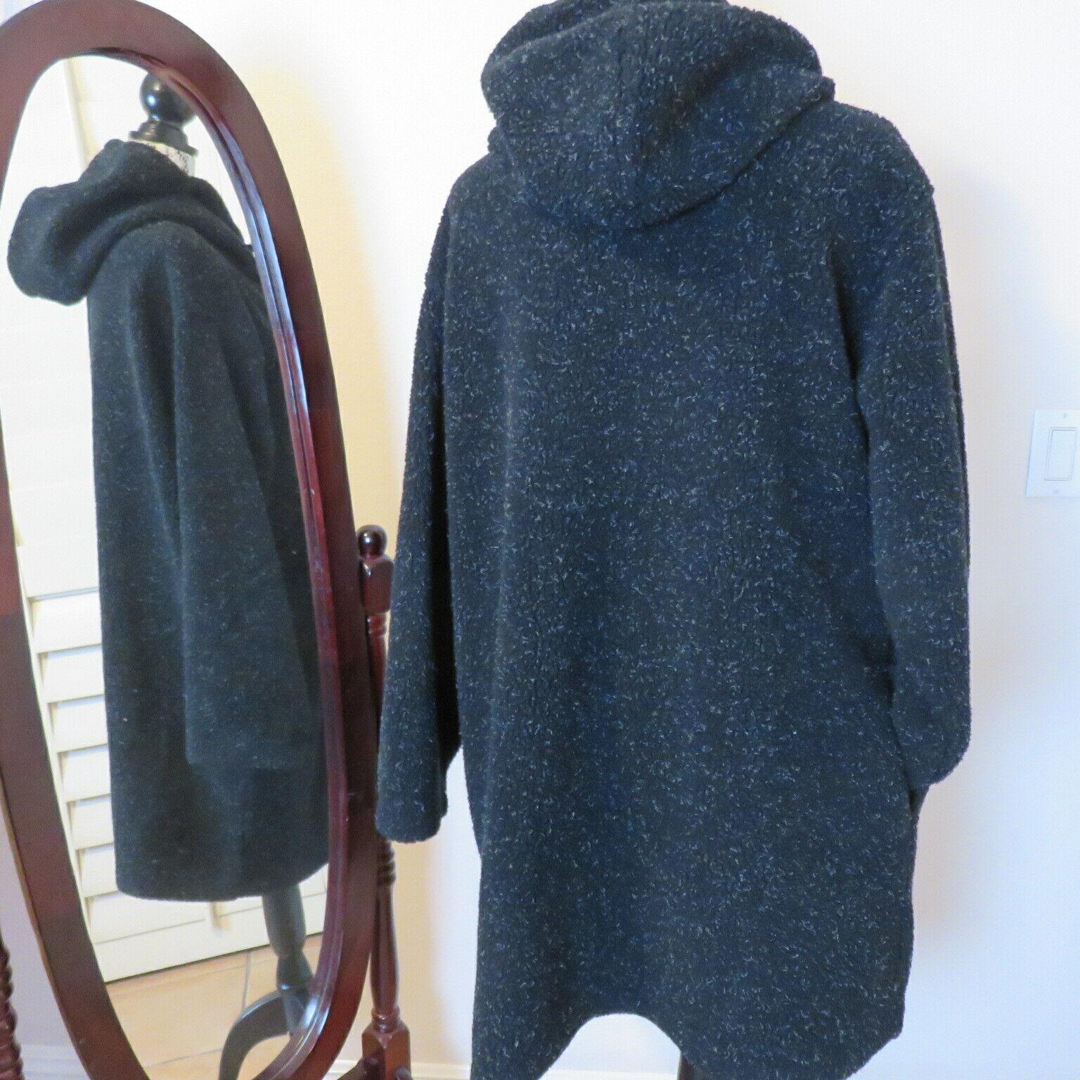 Roaman's M Fleecy Hooded Pockets Duffel Coat Wome… - image 5