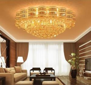 LED-Modern-K9-Clear-Crystal-Ceiling-Light-Pendant-Lamp-Chandelier-Lighting-2207