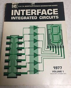 D-A-T-A-BOOK-INTERFACE-INTEGRATED-CIRCUITS-1977-1ST-EDITION