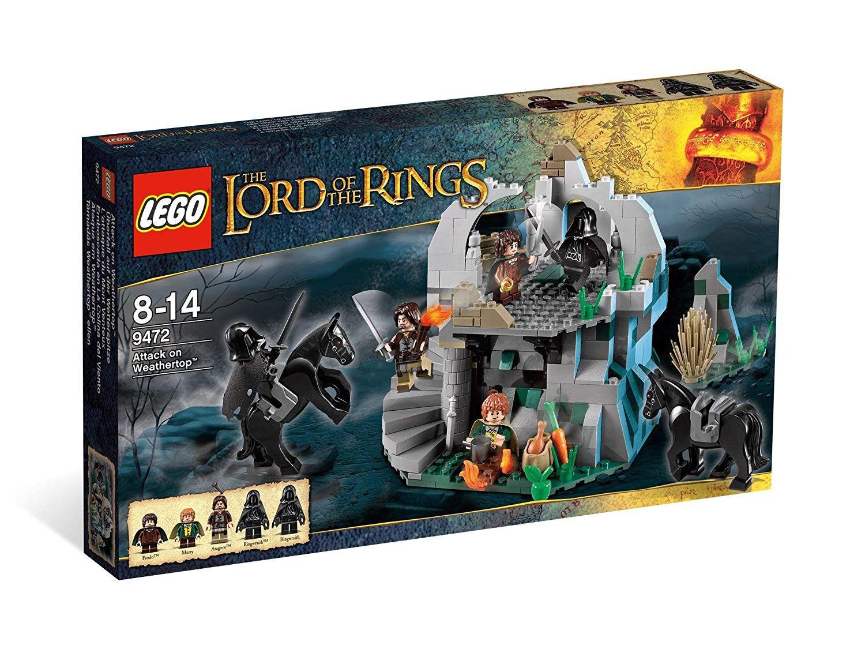 Lego le seigneur des anneaux 9472  attaque du mont venteux
